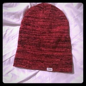 VS Pink Long Beanie